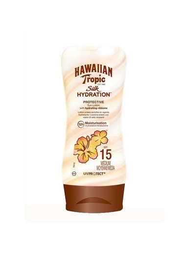 Hawaiian Tropic Lotion Silk Hydration Spf 15 180 Ml Renksiz
